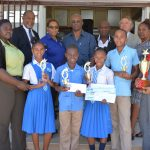 "Spring Gardens Primary & Infant School were victorious in the inaugural TPDCo ""Fi Wi Falmouth"" Tourism Quiz"