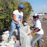 TPDCo staff at the recent International Coastal Cleanup Day